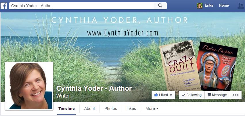 ref - Cynthia Yoder FB page